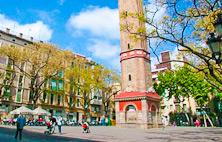 Gracia, barrio bohemio de Barcelona