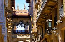 Gotiska distriktet i Barcelona