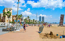 Barceloneta, invid havet!