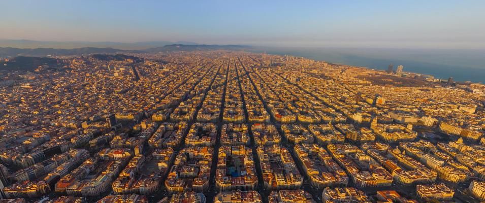 Distrikt Eixample Dreta/Höger - Turistinfomation om Barcelona