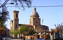 Sant Andreu, ett lugnt område i Barcelona
