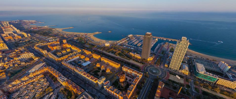 Познайомтесь з районом Віла Олімпіка в Барселоні