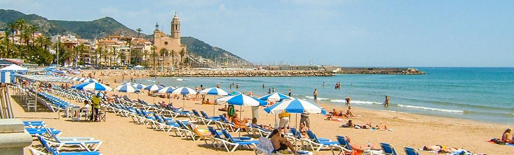 Scopri l'accogliente città costiera di Sitges!