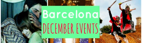 Outline of the best December events in Barcelona