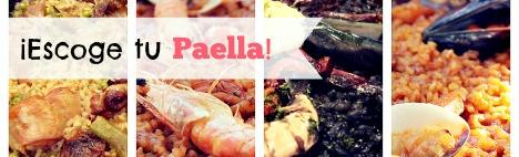 Choisissez votre paella préférée!