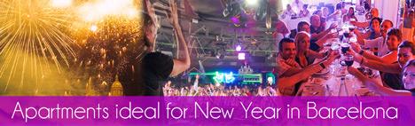 Lejligheder til nytårsaften i Barcelona