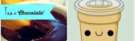 Tee oder Schokolade?