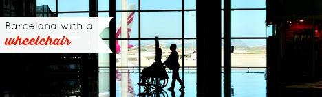 Barcelona para personas con discapacidad motriz