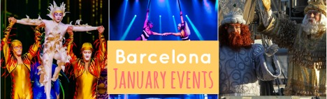 Outline of the best January events in Barcelona