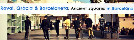 Dolda torg i Barcelona, del II