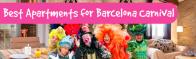 Karnevalen kommer till Barcelona! Bo nära paraderna ;)