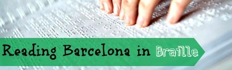 Barcelona för blinda människor