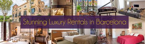 Gli appartamenti di lusso più sfarzosi di Barcellona