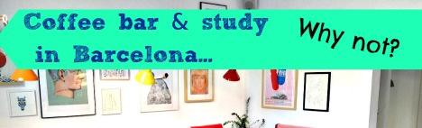 Cafés zum Studieren in Barcelona