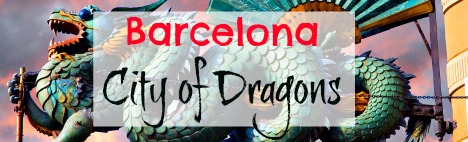 Why are there so many dragons in Barcelona?