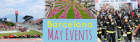 All the events during May in Barcelona