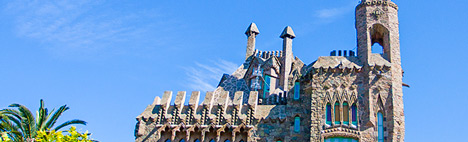 Ein verstecktes Werk für Gaudí Fans