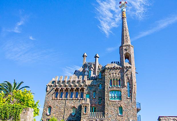 Een verborgen attractie voor fans van Gaudí