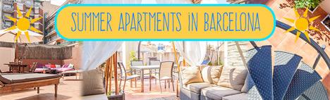 I migliori appartamenti per l'estate a Barcellona