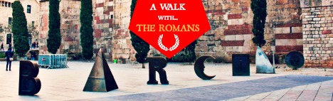 #Route: A walk with the Romans through Barcelona