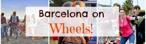 Barcelona on wheels: 5 fun activities