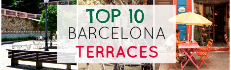 TOP 10 Terrasses de Barcelone
