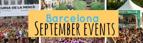 Events im September in barcelona