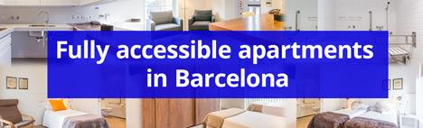 Lägenheter anpassade för rörelsehindrade i Barcelona