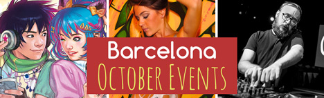 Toppevenemang under oktober i Barcelona