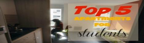 Top 5 Wohnungen für Studenten