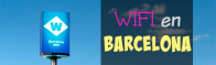 Where can I find free WiFi hotspots in Barcelona?