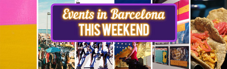 Activities for this weekend in Barcelona (1 - 3 July)