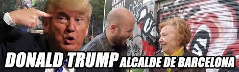Donald Trump burmistrzem Barcelony