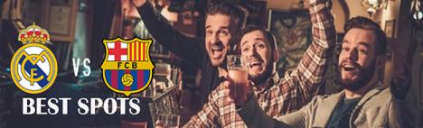 Die Top Bars um el Clásico zu sehen