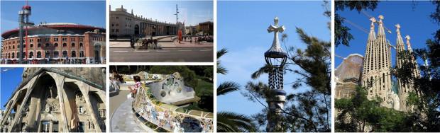 Topp 10 turistattraktioner i Barcelona