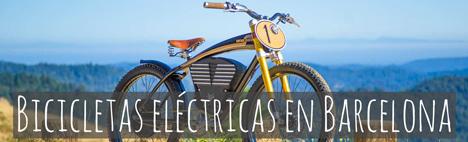 Visitar Barcelona en bicicleta eléctrica