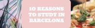 I migliori 10 motivi per studiare a Barcellona