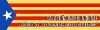 Uno su tre stranieri è a favore del Referendum in Catalogna