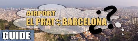 Comment aller à l'Aéroport El Prat Barcelone