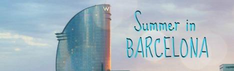 Лето приходит в Барселону!