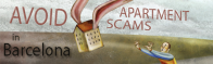 How to avoid apartment scams in Barcelona