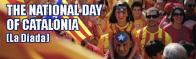 National Day Catalonia — La Diada on 11 September