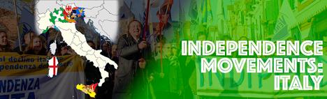 Movimentos independentista en Véneto y Lombardía
