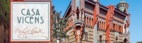All about Casa Vicens by Gaudí