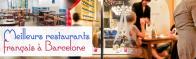 Top 3 des meilleurs restaurants français à Barcelone
