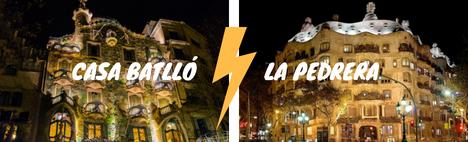 Casa Batlló VS La Pedrera, ¿qué obra gana?