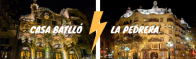 The battle: Casa Batlló VS Casa Milá!