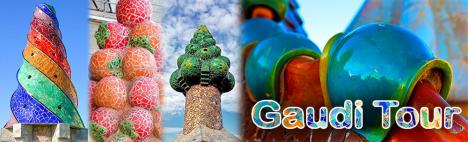 Tour pour découvrir Gaudí - Jour 1