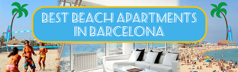 7 Best beach apartments in Barcelona
