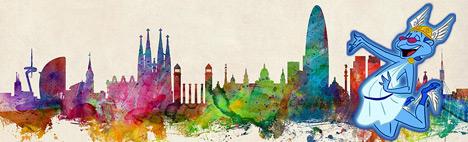 Hermès, Co-Fondateur de la ville de Barcelone